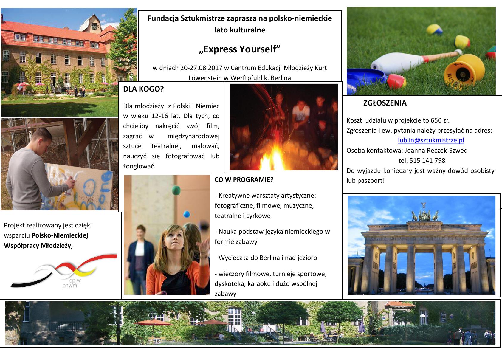 flyer Lato Kulturalne